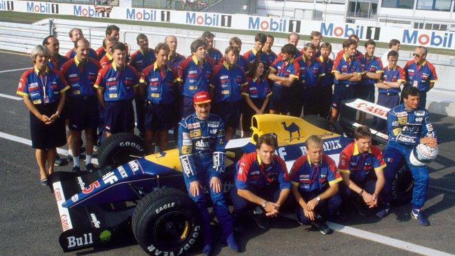 Williams prožíval na počátku 90. let druhý vrchol