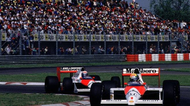 Ayrton Senna se také postaral o nějakou tu kuriozitu