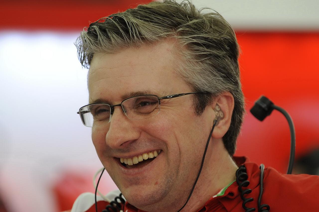 Pat Fry má zkušenosti z mnoha F1 týmů Ferrari nevyjímaje
