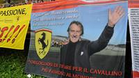 Fanoušci mají jasno, Ferrari se vůči někdejšímu prezidentovi zachovalo chladněji
