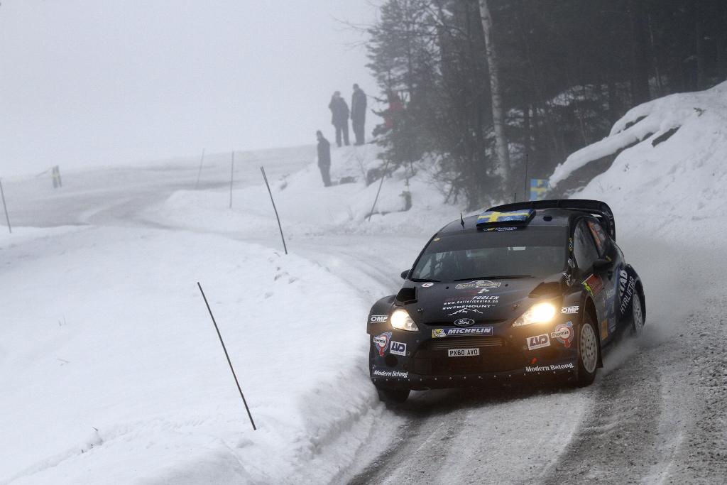 Tidemand už zkušenosti s Fordem WRC má, ale sbíral je ještě s předchozí generací