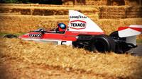 McLaren M23 Ford v britském Goodwoodu