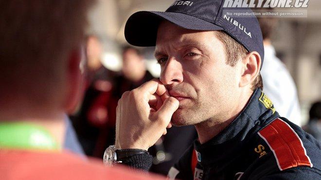Juho Hanninen v barvách svého předchozího zaměstnavatele - Hyundai Motorsport