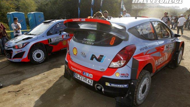 Získá Hyundai ve své druhé sezoně ve WRC druhé místo mezi konstruktéry?