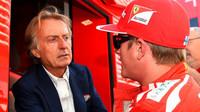 Montezemolo s Räikkönenem, kterého měl u Ferrari Bianchi nahradit