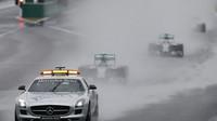 Safety car byl podle Hamiltona na trati příliš dlouho a zbytečně (ilustrační foto)