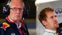 Helmut Marko zná lék na problémy Sebastiana Vettela - anotační foto