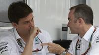 Wolff nabádá k obezřetnosti, Lowe čeká v Belgii dramatický závod