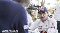 Carlos Sainz i letos startuje v barvách Peugeotu