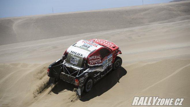 Giniel de Villiers / Dirk von Zitzewitz na loňském Dakaru