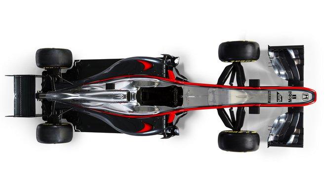 Letošní McLaren MP4-30 moc úspěchů nezažil