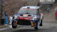 Stéphane Lefebvre při prvních dvou startech s DS3 WRC předvedl slušné výkony.