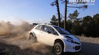 Toyota Yaris WRC v původní specifikaci tak, jak ji postavilo TMG