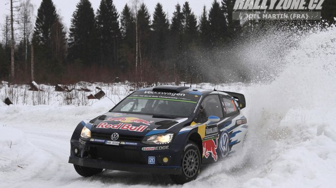 Rally Sweden: Ogier odrazil během dne útok Paddona a míří za vítězstvím - anotační foto