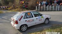 Rallyový jezdec Marek Gabko bronzový ve třídě - anotační foto