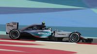 Nico Rosberg s Mercedesem