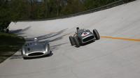 Monza pamatuje leccos, i závody na klopené dráze