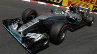 Lewis Hamilton s Mercedesm F1 W06 Hybrid