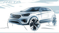 Hyundai představuje nové SUV na první skice - anotační obrázek