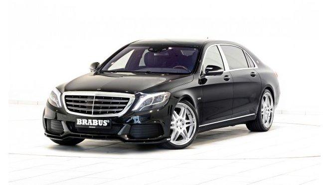 FOTO: Mercedes-Maybach v brutální pojetí Brabusu