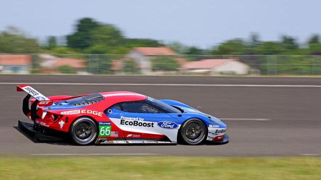Nový Ford GT určený pro FIA World Endurance Championship včetně 24 hodin v Le Mans