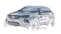 Oficiální skica chystaného Mercedesu GLC