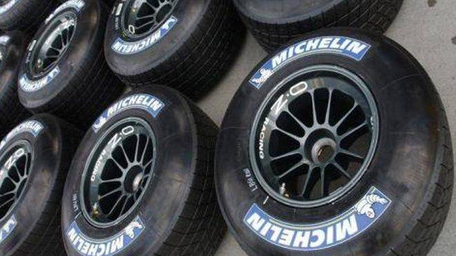 Pneumatiky F1 Michelin