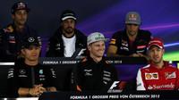 Na Silverstone se piloti F1 sešli v jiné sestavě (ilustrační foto)