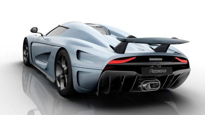 Koenigsegg prezentuje revoluční zadní křídlo na voze Regera