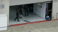 Boxy Williamsu - po odjetí formule je nutno podlahu vyleštit