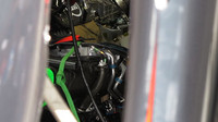 Kokpit McLarenu MP4-30 Honda