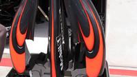 Karbonové díly z McLarenu MP4-30 Honda