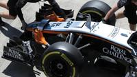 Přední křídlo vozu Force India VJM08 Mercedes