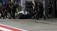 Rosberg u mechaniků