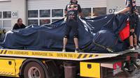 Odtahovka dovezla Ricciardův vůz