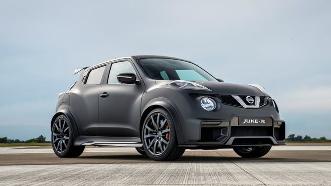 Dnes byl představen Nissan Juke-R druhé generace