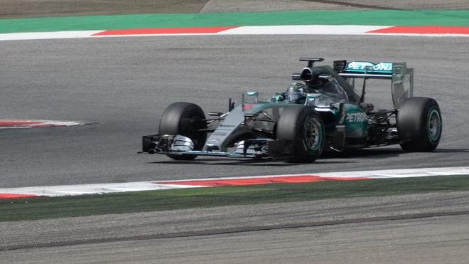 Odpolední trénink opět ovládl Rosberg, druhý Räikkönen - anotační foto