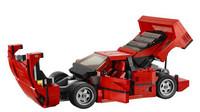 Lego verze Ferrari F40 věrně kopíruje svou předlohu
