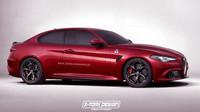Alfa Romeo Giulia Sprint se může hravě stát realitou.