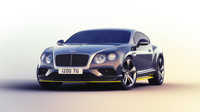 Bentley v této speciální edici zaujme hlavně svým speciálním barevným zpracováním.