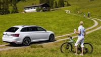 Na výrazném vzhledu nové generace modelu Superb Combi se nemalou měrou podílejí větší kola s novým designem.