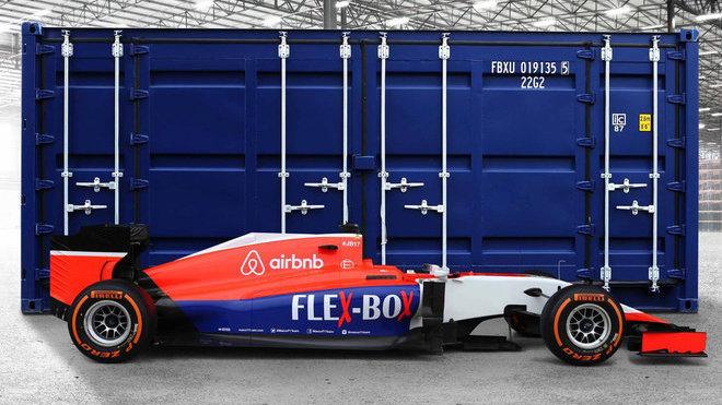 Od Grand Prix Velké Británie už bude mít Manor tuto podobu.