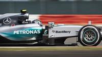 Nejvyšší rychlost v závodě dosáhl Rosberg, Bottas těsně za ním - anotační foto