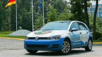 Volkswagen Golf TDI, který byl použit při rekordní jízdě po USA