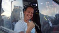 Lucie Engová se v Mostě poprvé představí jako závodní jezdkyně - anotačno foto