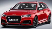 Audi RS4 Avant (render)