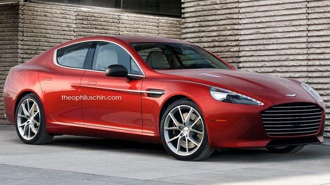 Aston Martin sedan (render)
