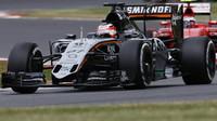 Vylepšená Force India v Silverstone