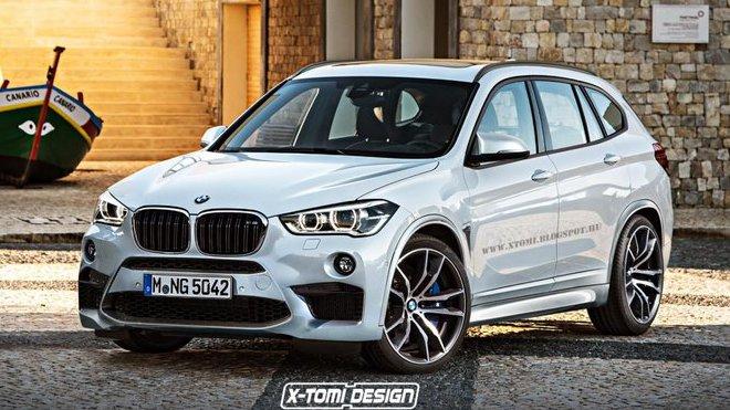render BMW X1 M