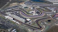 Letecký pohled na okruh Circuit of the Americas